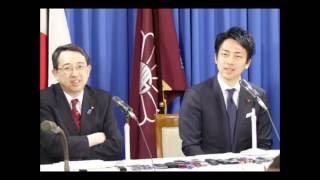 小泉新次郎氏 2020年東京オリンピック以降を考えて「レールをぶっ壊す」