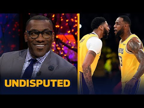 Shannon Sharpe reacts to Anthony Davis' 40- 20 night in Lakers win over Grizzlies   NBA   UNDISPUTED