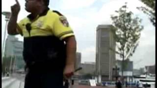 A Pissed Off Police Officer Takes Advantage of kids