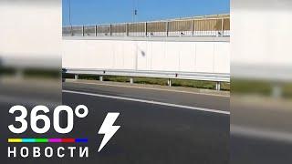 Фуры на подъездах к Крымскому мосту задержаны