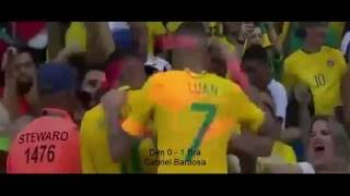 Video Gol Pertandingan Denmark vs Afrika Selatan
