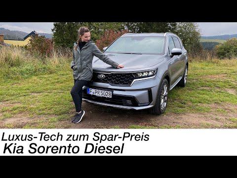 2021 Kia Sorento 2.2 CRDi AWD Platinum 7-Sitzer Test: WOW-Faktor für 54.000 Euro [4K] - Autophorie