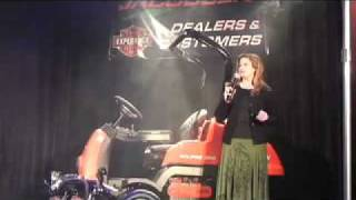 Eclipse 322 Product Launch at Jacobsen Dealer Meeting 2008 (Emilie Barta, Trade Show Presenter)