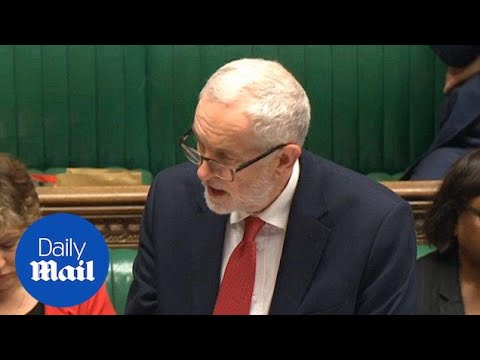 Jeremy Corbyn: Government has failed to talk with Moscow Kremlin - Daily Mail