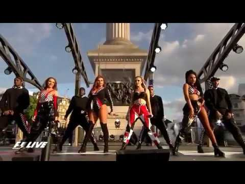 Little Mix 'Power' F1 live London 2017