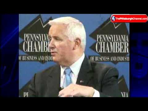 Commitment 2010: Onorato, Corbett On Marcellus Shale Issue