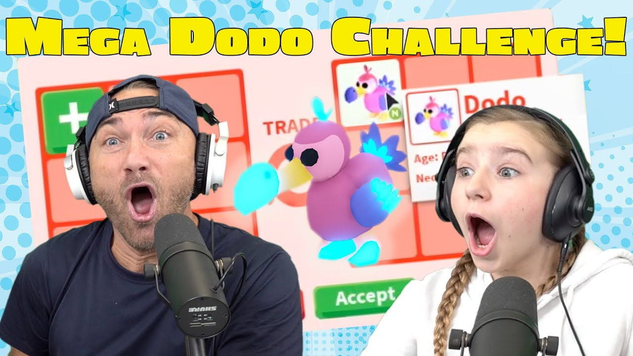 Download Will Cammy or Mike get the MEGA DODO First?! NEW Trading ONLY for Dodo's in Roblox Adopt Me!
