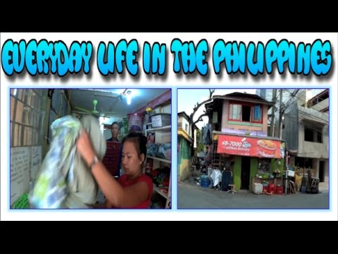 Everyday Life in The Philippines: Laundry Shop and Paying Rent in Cebu City  ✅