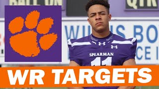Clemson Recruiting: Wide Receiver Targets For 2022 Class