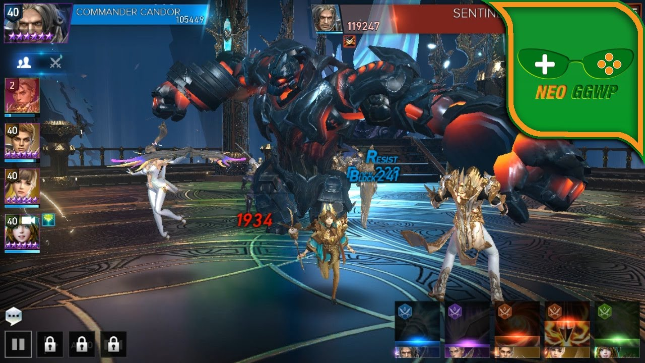 AION: Legions of War - Android / iOS - Gameplay First Start