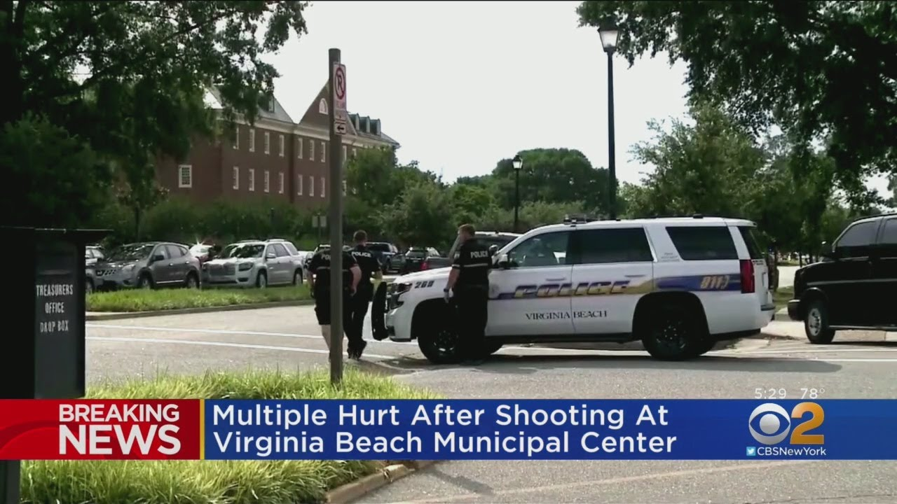 Multiple People Hurt In Virginia Beach Shooting