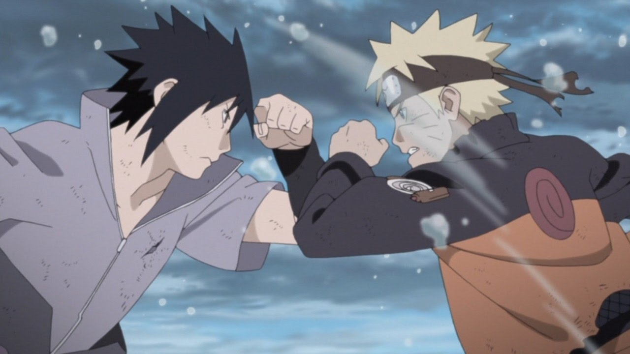 Naruto Amv Naruto Vs Sasuke Final Battle Full Fight Youtube
