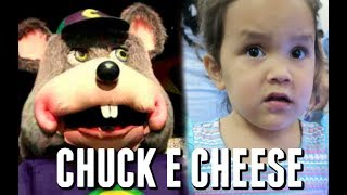 FIRST TIME AT CHUCK E CHEESE! - July 15, 2017 -  ItsJudysLife Vlogs