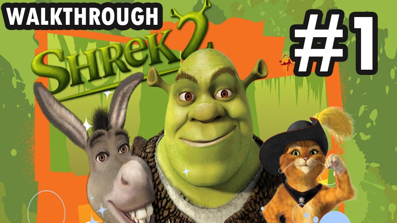 Shrek 2 The Game Part 15 Wanted Posters 1212 Coins 3924
