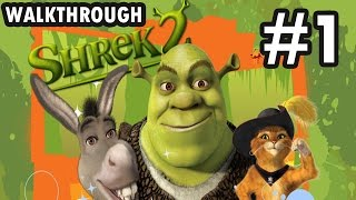 Shrek 2: The Game - Part 1/5 - Wanted Posters 12/12 - Coins 3924 (Walkthrough)