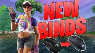 Getting Used to New Binds! New Mouse! - Fortnite Battle Royale