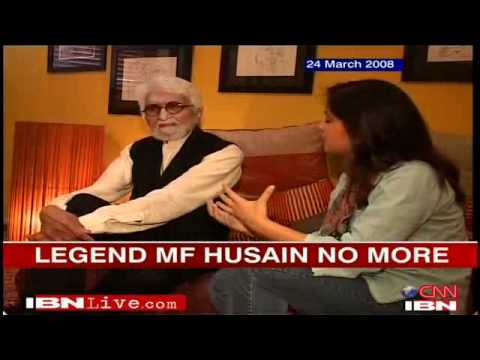 Remembering a day in the life of M.F. Husain