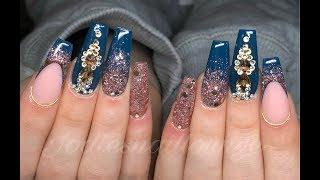 Gel polish encapsulated in acrylic??? | Acrylic Nails | gelpolish