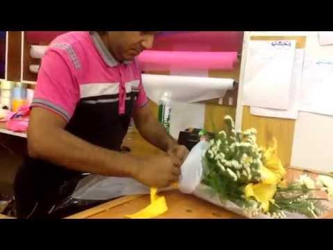 Flower Shop in Arbil: How to make a bouquet in Kurdistan HD