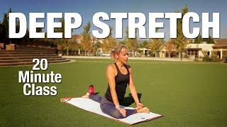 20 Minute Deep Stretch Yoga Class - Five Parks Yoga