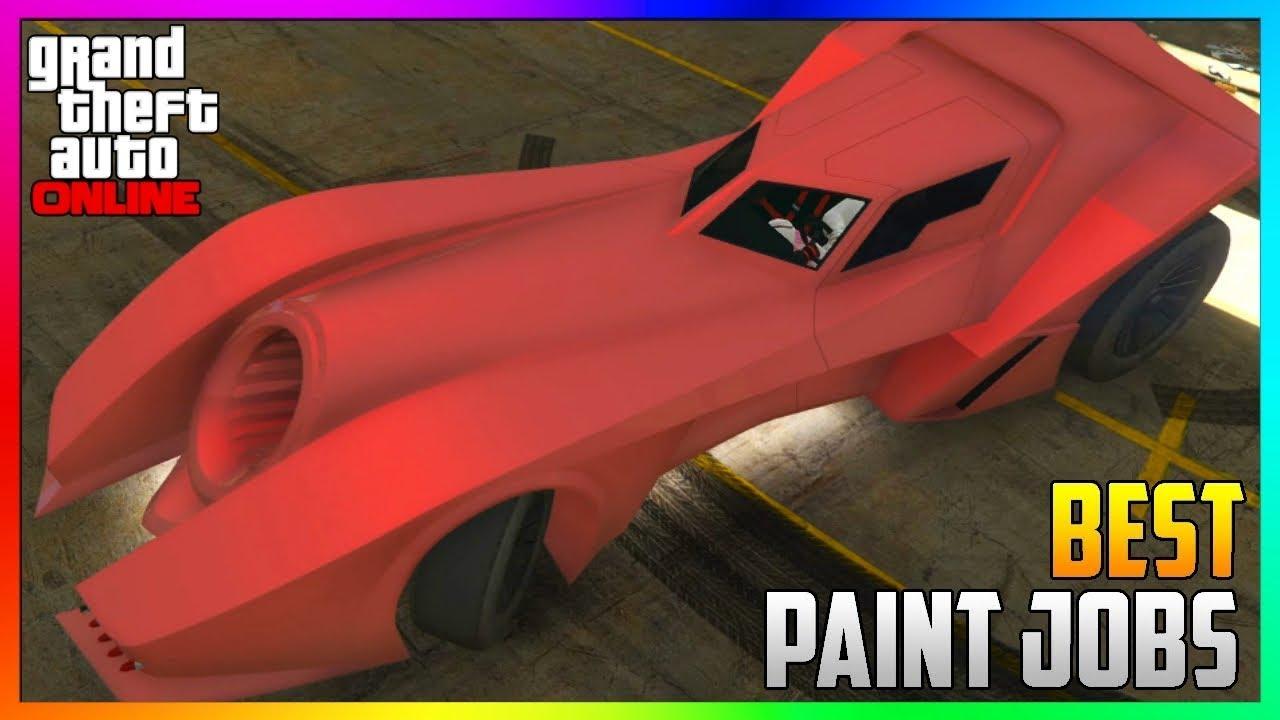 Top Four Best Rare Paint Jobs For Vigilante Car In Gta 5 Online Gta 5 Secret Paint Jobs