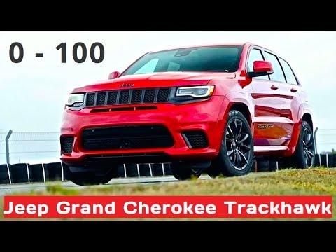 Jeep Cherokee Trackhawk 707hp 0 100 Km H Youtube