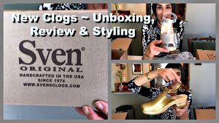 New Sven Clogs ~ Unboxing, Review & Styling