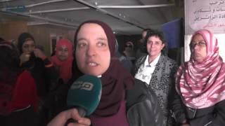 مصر العربية |  مظاهرة لموظفي دار الكتب للمطالبة بمستحقاتهم المالية