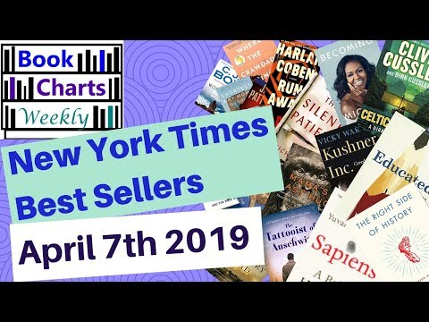 top-10-books-to-read---fiction-&-nonfiction:-new-york-times-best-sellers'-chart-(april-7th-2019).