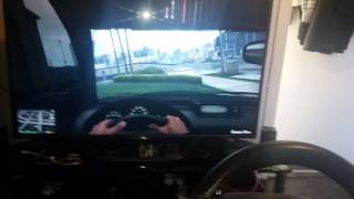How to use gta 5 ps4 with thrustmaster t80 race wheel and gta online  and other non compatible games