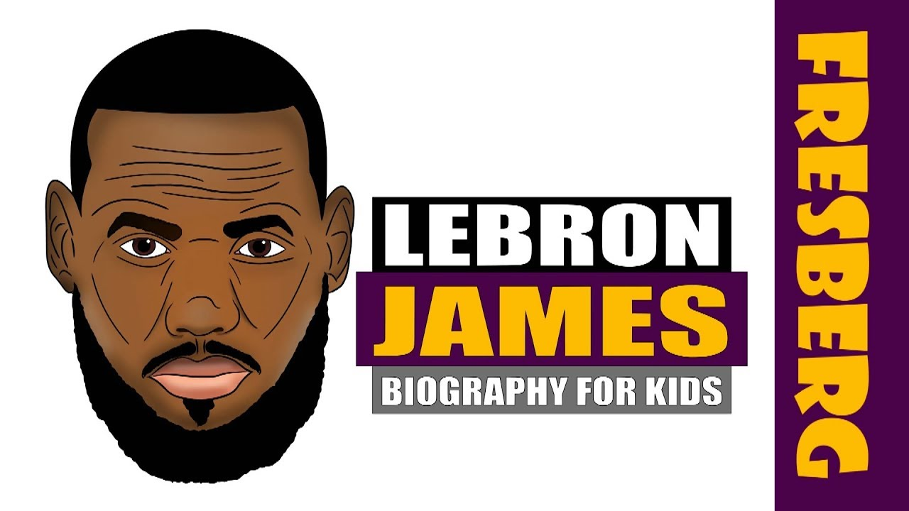 LeBron James Biography for Kids (Highlights) | Sports History | NBA Basketball Legend