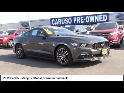 2017 Ford Mustang Signal Hill Long Beach Seal Lakewood Carson F4431 Caruso Loncoln