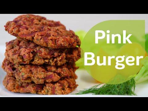 pink-burgers-aus-roter-beete---bratlinge-|-pflanzliche-alternative-|-eat-smarter