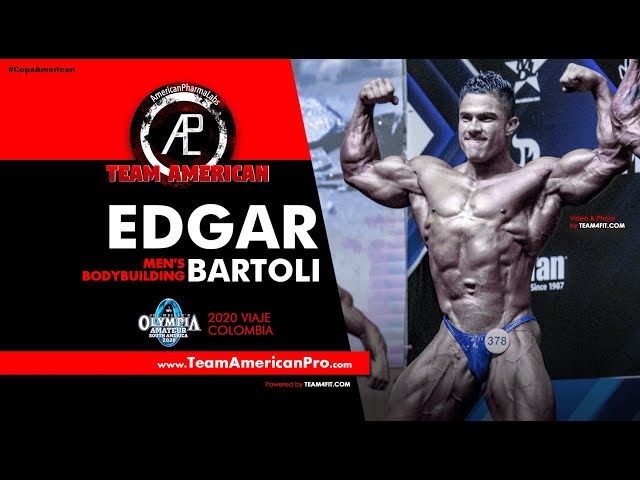 EDGAR BARTOLI - MEN'S BODYBUILDING - MR OLYMPIA 2020 - TEAM AMERICAN - www.TeamAmericanPro.com