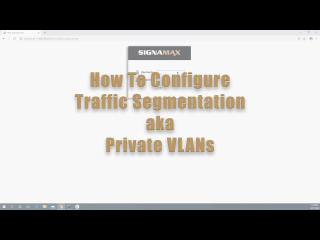 How to Configure Traffic Segmentation or Private VLANs on C-300 Switches