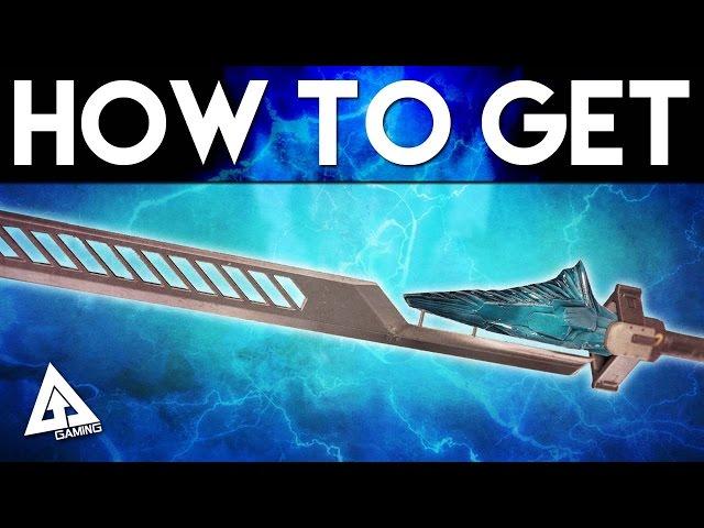 Destiny The Taken King How to Get an EXOTIC SWORD Bolt Caster - Raze Lighter - Dark Drinker