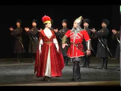 "Circassian ""Kabardinka"" vs. Ossetian ""Alan"""