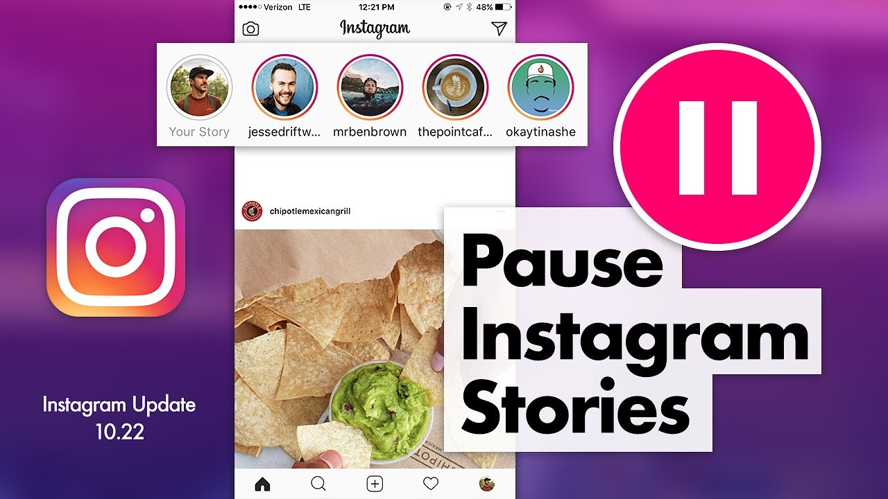 How to Pause Instagram Stories