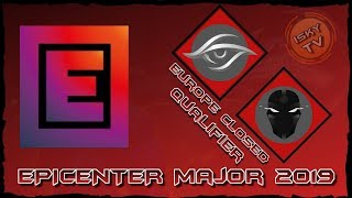 Team Secret vs TFT / Bo3 / EPICENTER Major 2019 Europe Closed Qualifier / Dota 2 Live