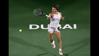 Simona Halep | 2020 Dubai Final | Shot of the Day