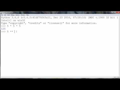 Exponentiation - How to Raise Number to a Power in Python programming language
