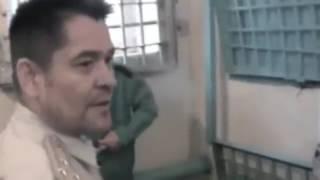 Реальное видео с зоны   зеки в ШИЗО качают права