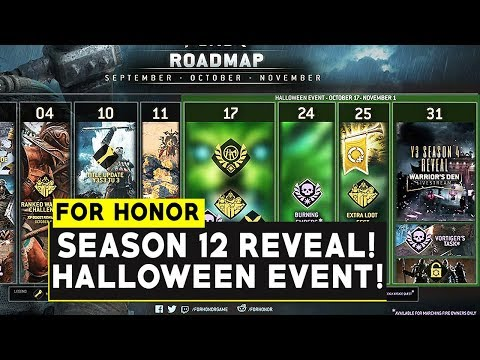 2020 Halloween Event For Honor For Honor: SEASON 12 Reveal Time! HALLOWEEN EVENT SOON! October
