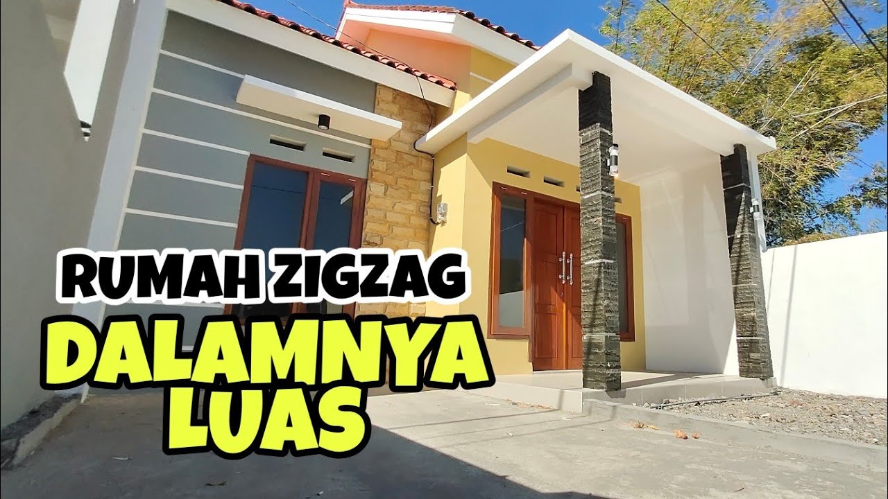 Terpopuler Rumah Minimalis Zigzag, Rumah Minimalis