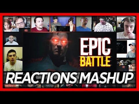 Injustice 2 Announce Trailer Reaction's Mashup 'EPIC BATTLE' (Gamer's React)