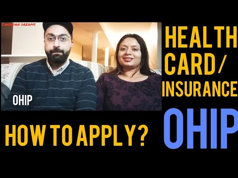 OHIP - Ontario Health Insurance Program||FREE Health Care In Canada