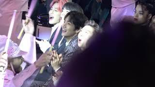 190501 Billboard Music Awards BTS V Reaction Cam (Taylor Swi...