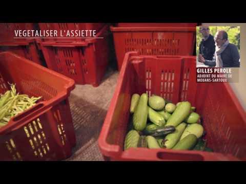 ORGANIC FOOD IN LOCAL SCHOOLS. An exchange between Mouans Sartoux and LAG Pays de Condruses