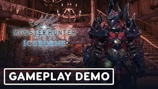 Fighting Brachydios in Monster Hunter World: Iceborne - Gamescom 2019