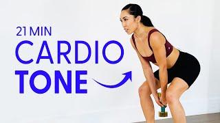21 Minute Cardio Burn N' Tone Workout | 21 Day Tone
